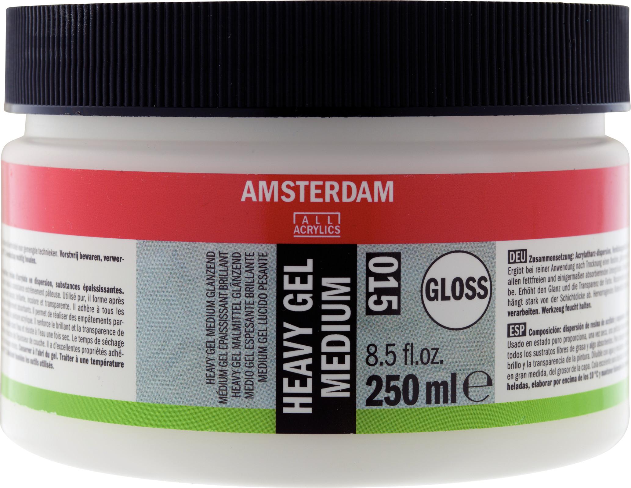 Amsterdam Heavy Gel Medium Gloss Jar 250 ml