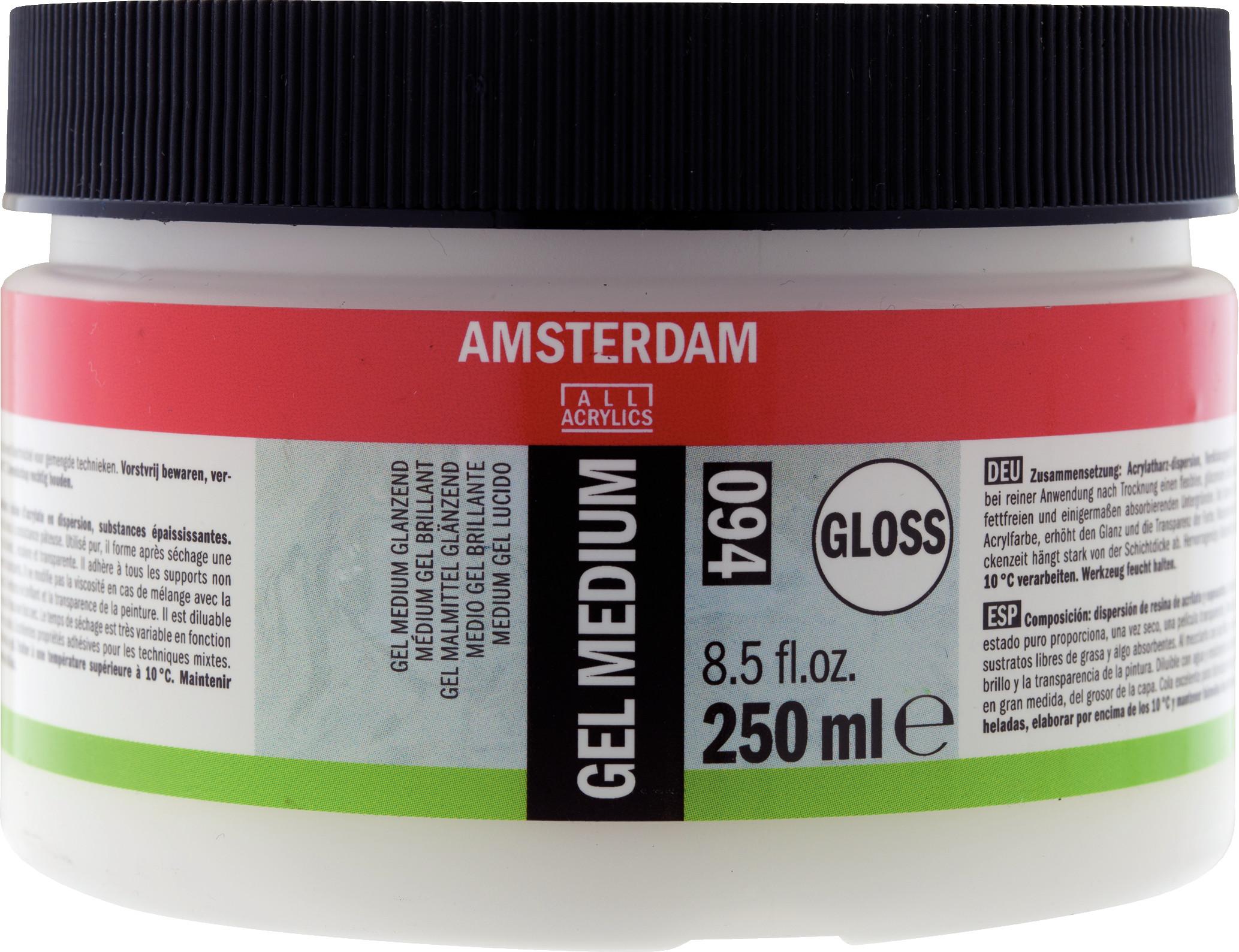 Amsterdam Gel Medium Gloss Jar 250 ml