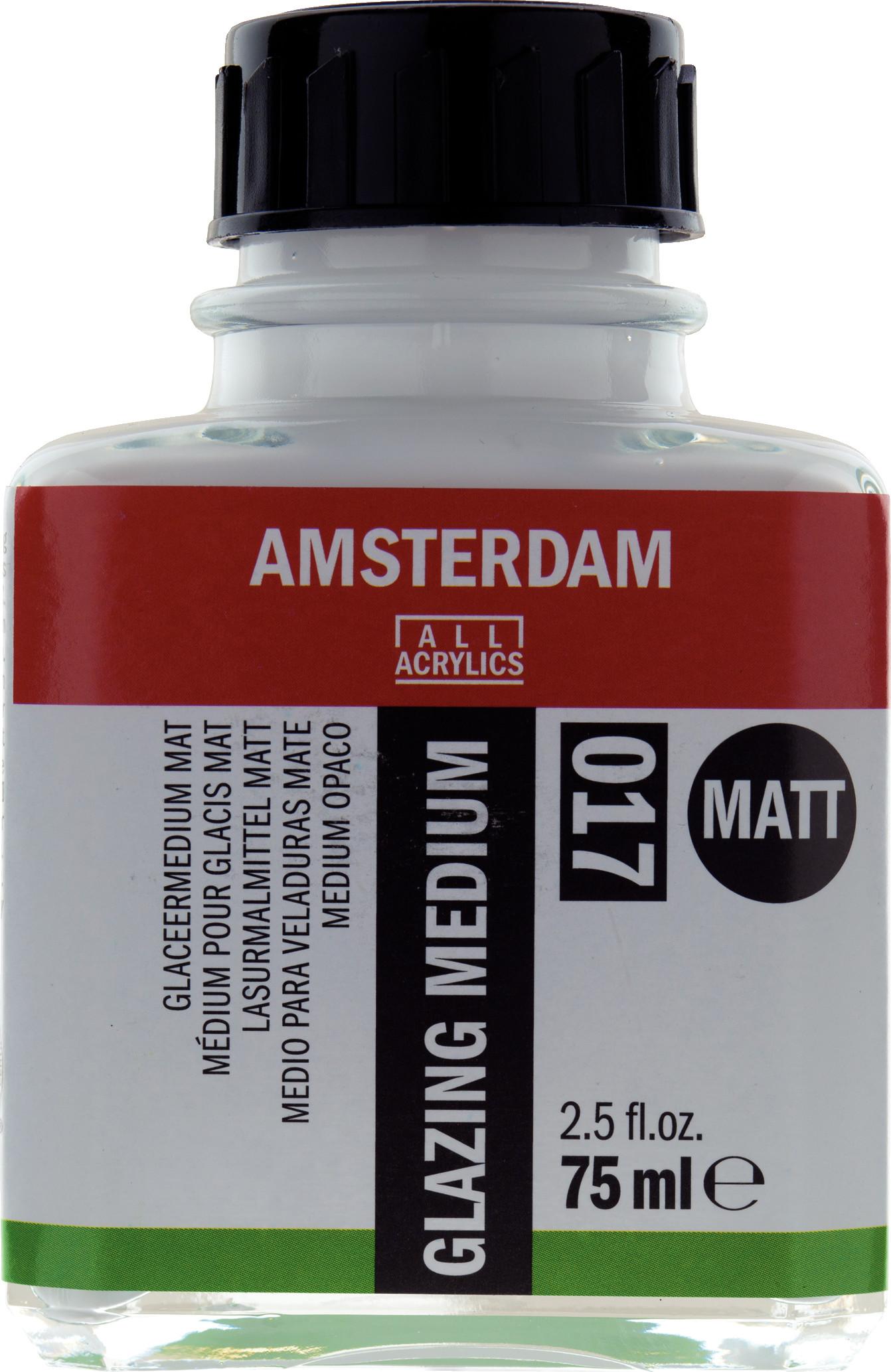 Amsterdam Glazing Medium Matt Bottle 75 ml