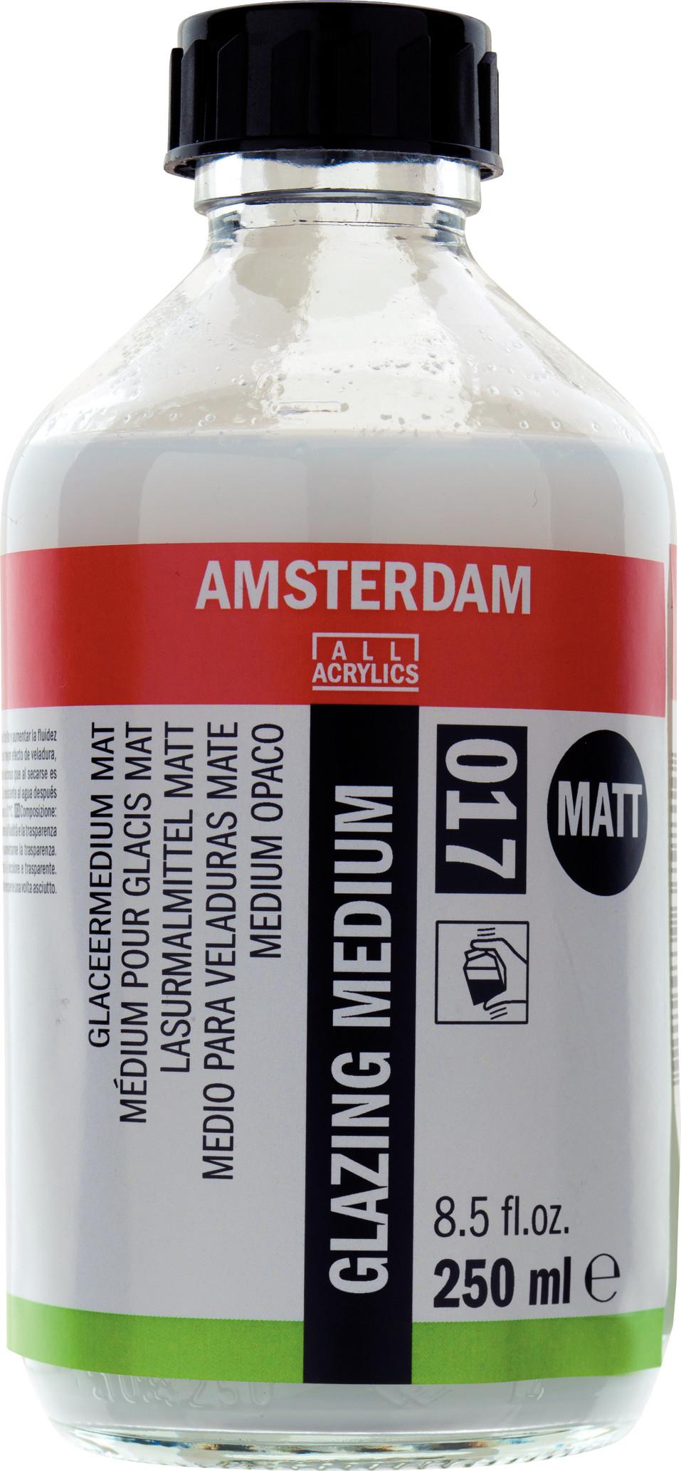 Amsterdam Glazing Medium Matt Bottle 250 ml