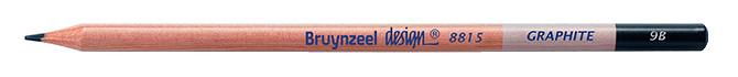 Bruynzeel Design Graphite 9B Graphite Pencils