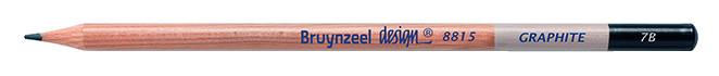Bruynzeel Design Graphite 7B Graphite Pencils
