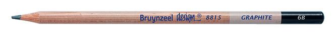 Bruynzeel Design Graphite 6B Graphite Pencils