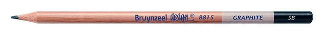 Bruynzeel Design Graphite 5B Graphite Pencils