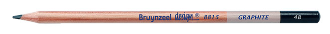 Bruynzeel Design Graphite 4B Graphite Pencils