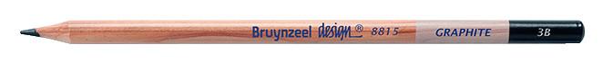 Bruynzeel Design Graphite 3B Graphite Pencils