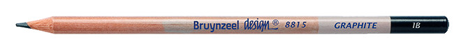 Bruynzeel Design Graphite 1B Graphite Pencils