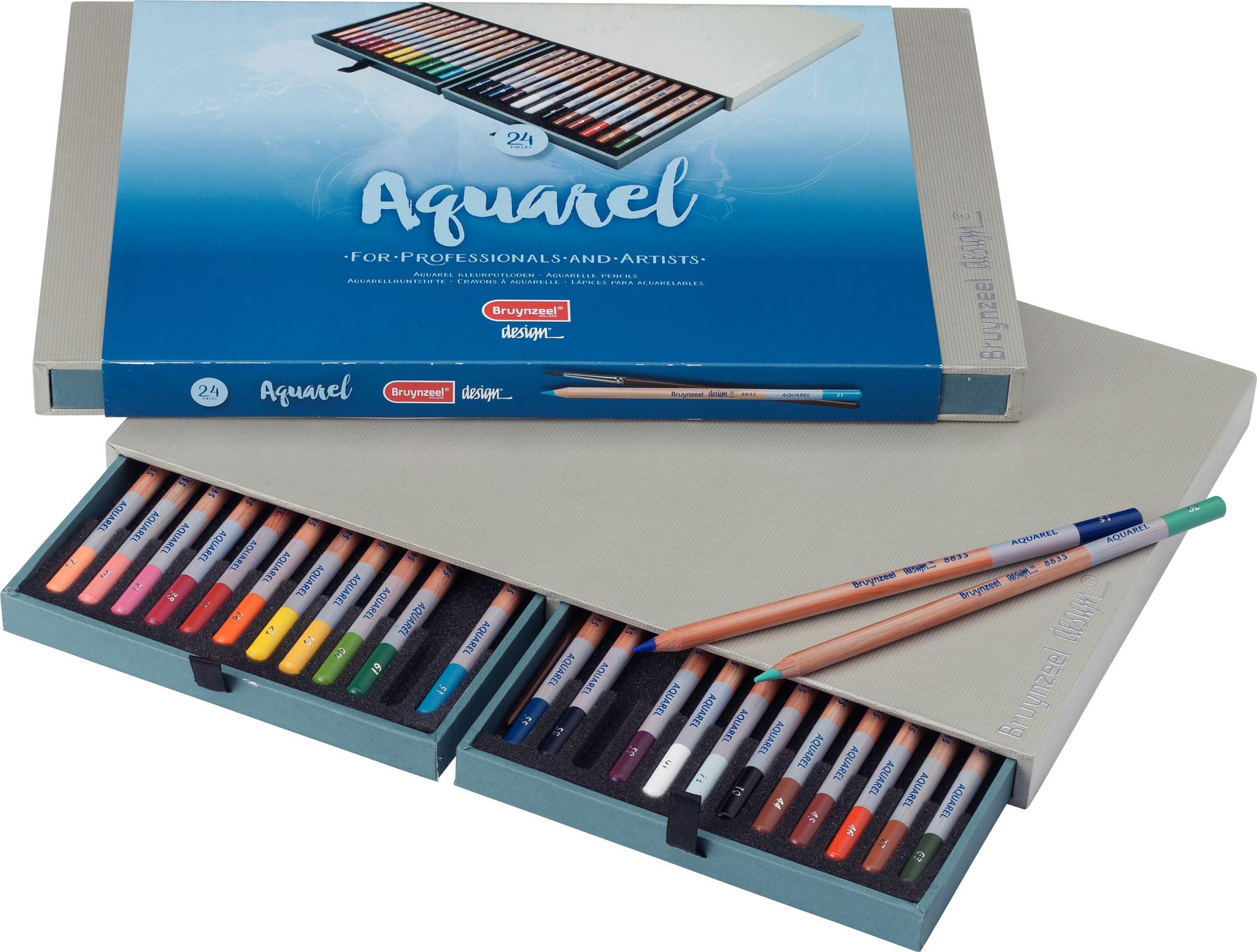 Bruynzeel Water Colour Pencils Box 24