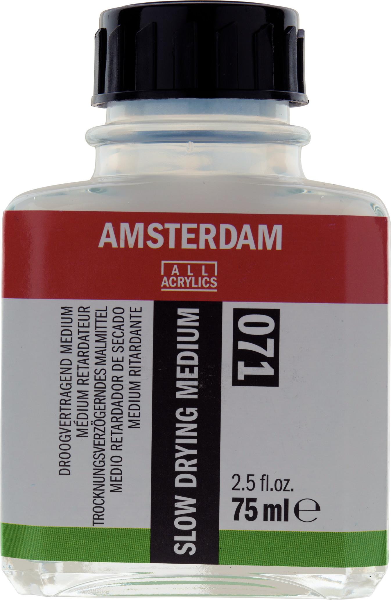 Amsterdam Slow Drying Medium Bottle 75 ml
