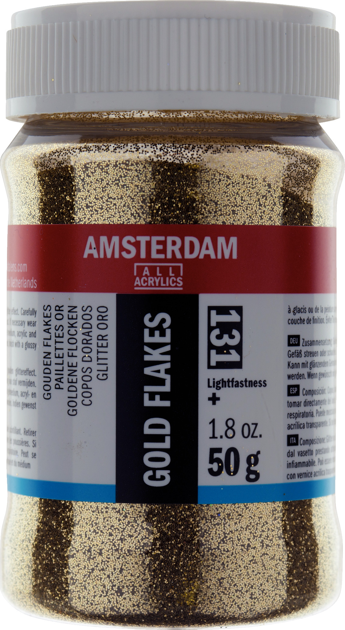 Amsterdam Gold Flakes Jar 50 g
