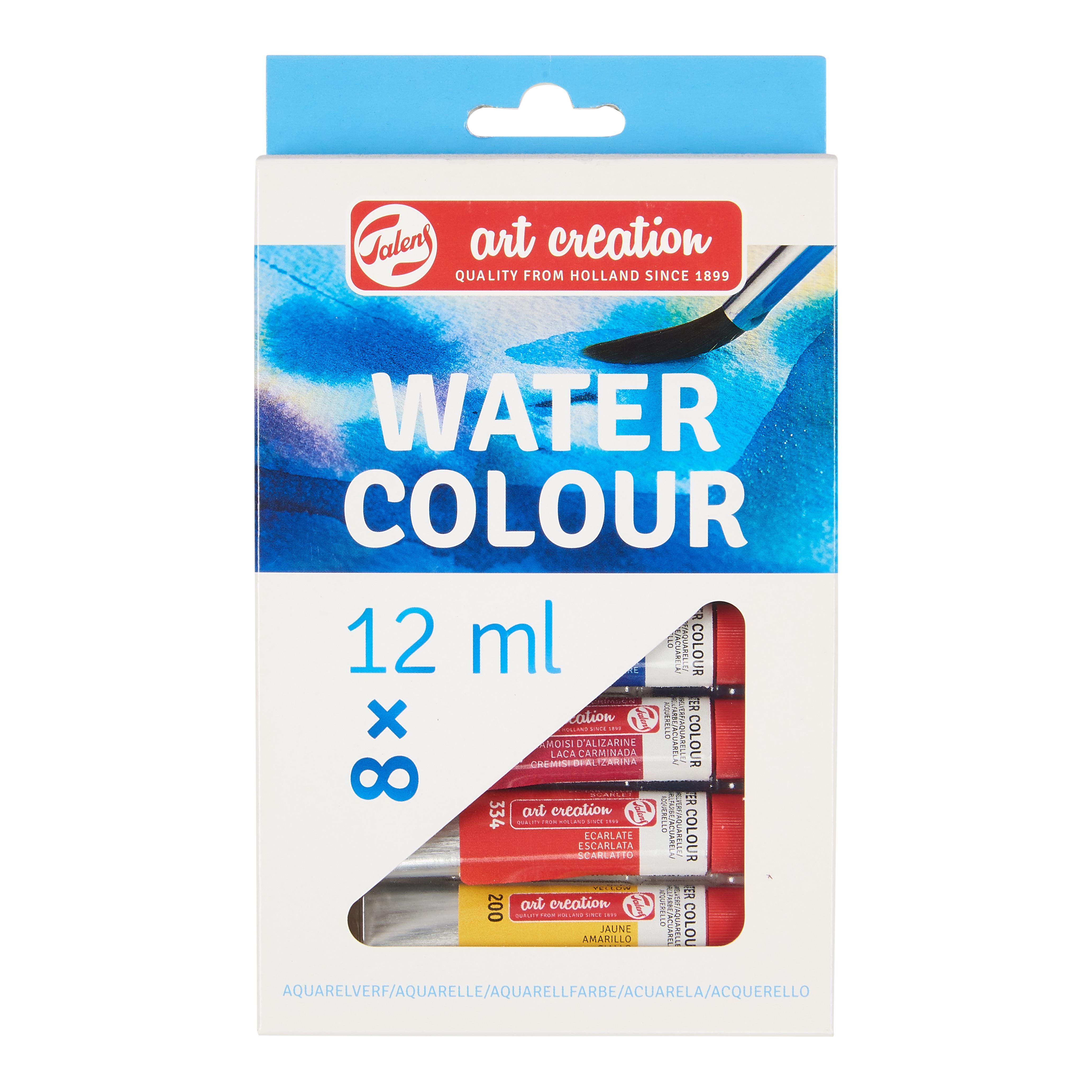 Talens Art Creation Water Colour Set 8 x 12 ml