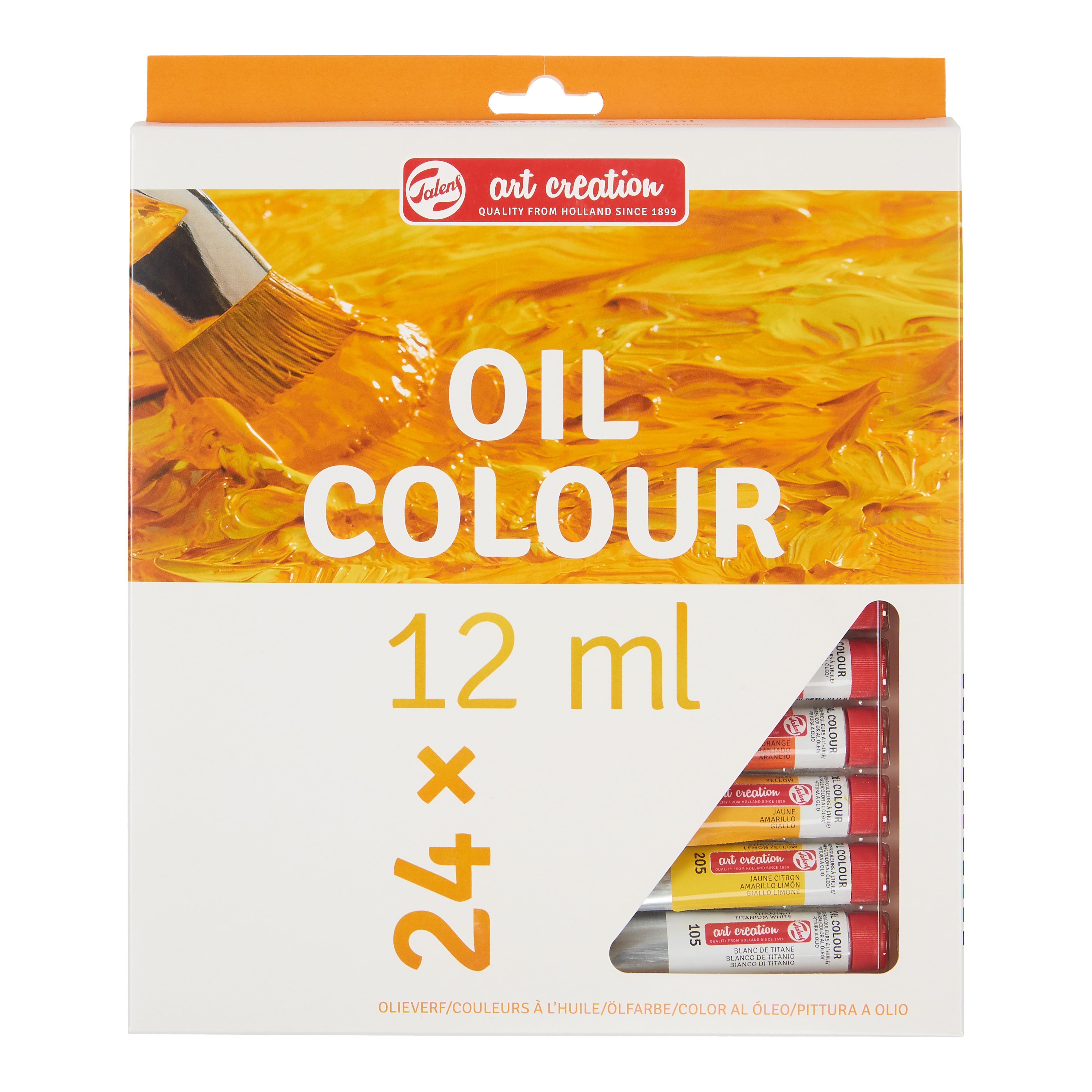 Talens Art Creation Oil Colour Set 24 x 12 ml