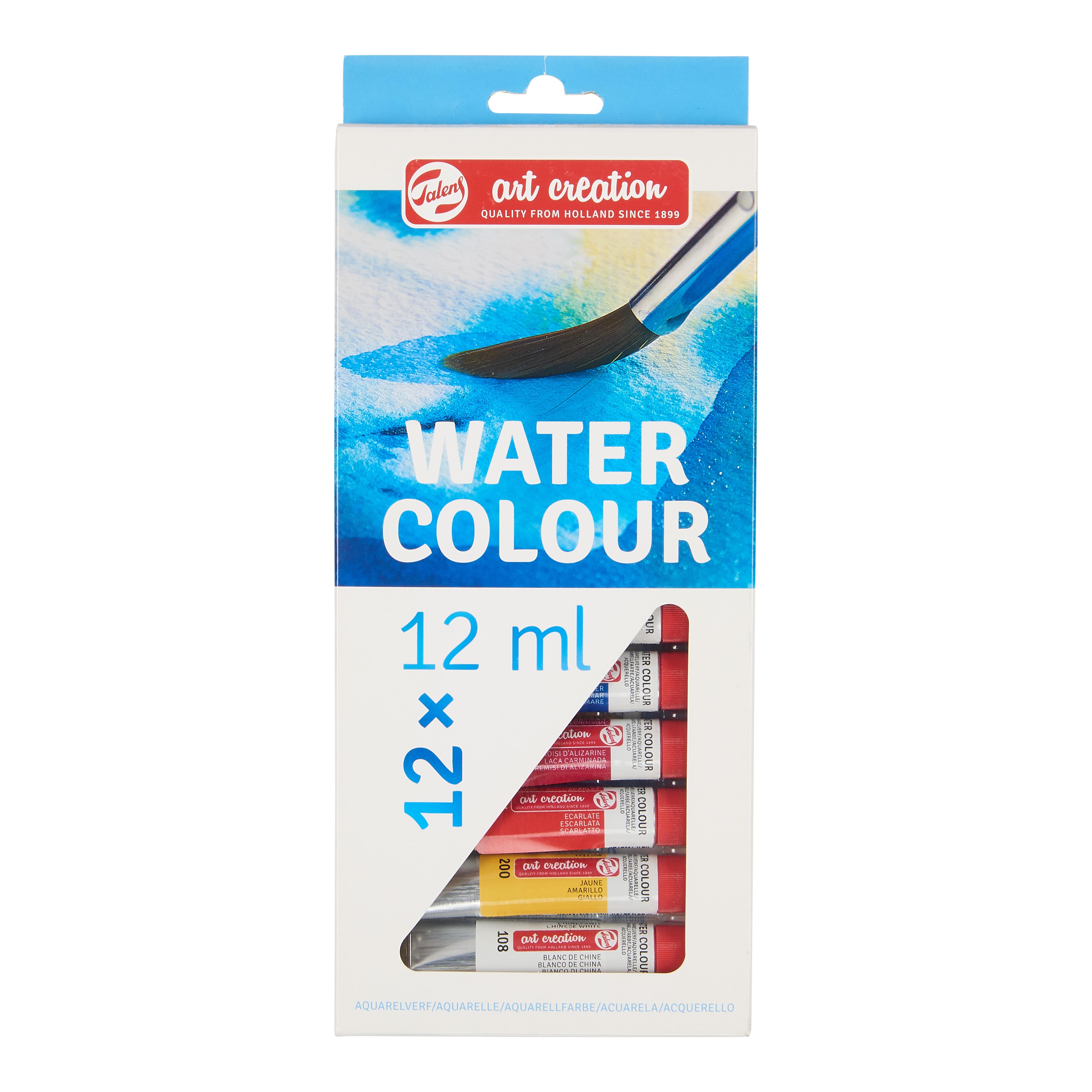 Talens Art Creation Water Colour Set 12 x 12 ml