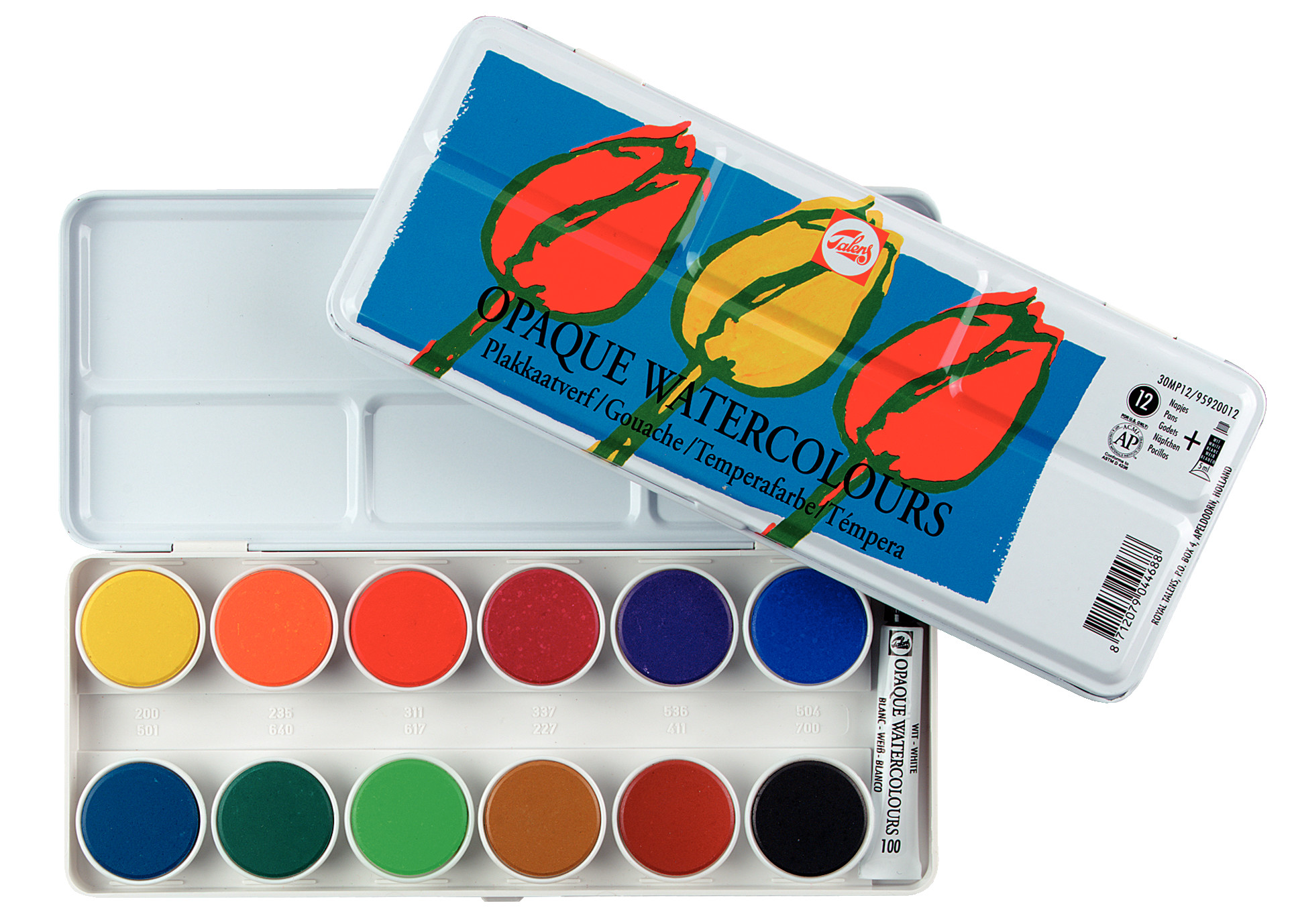 Talens Opaque Water Colours Set 30Mp12