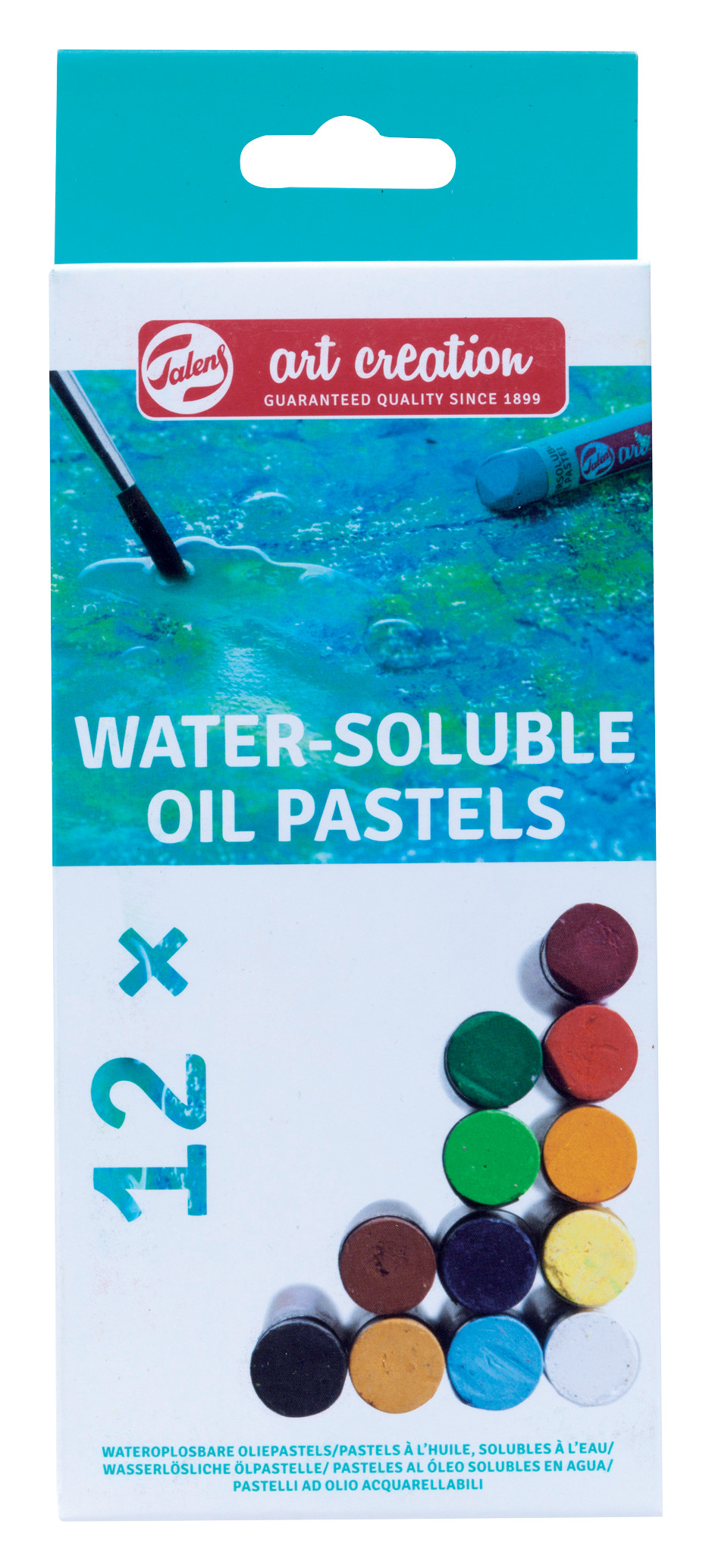 Talens Art Creation Water Soluble Oil Pastel Set x12