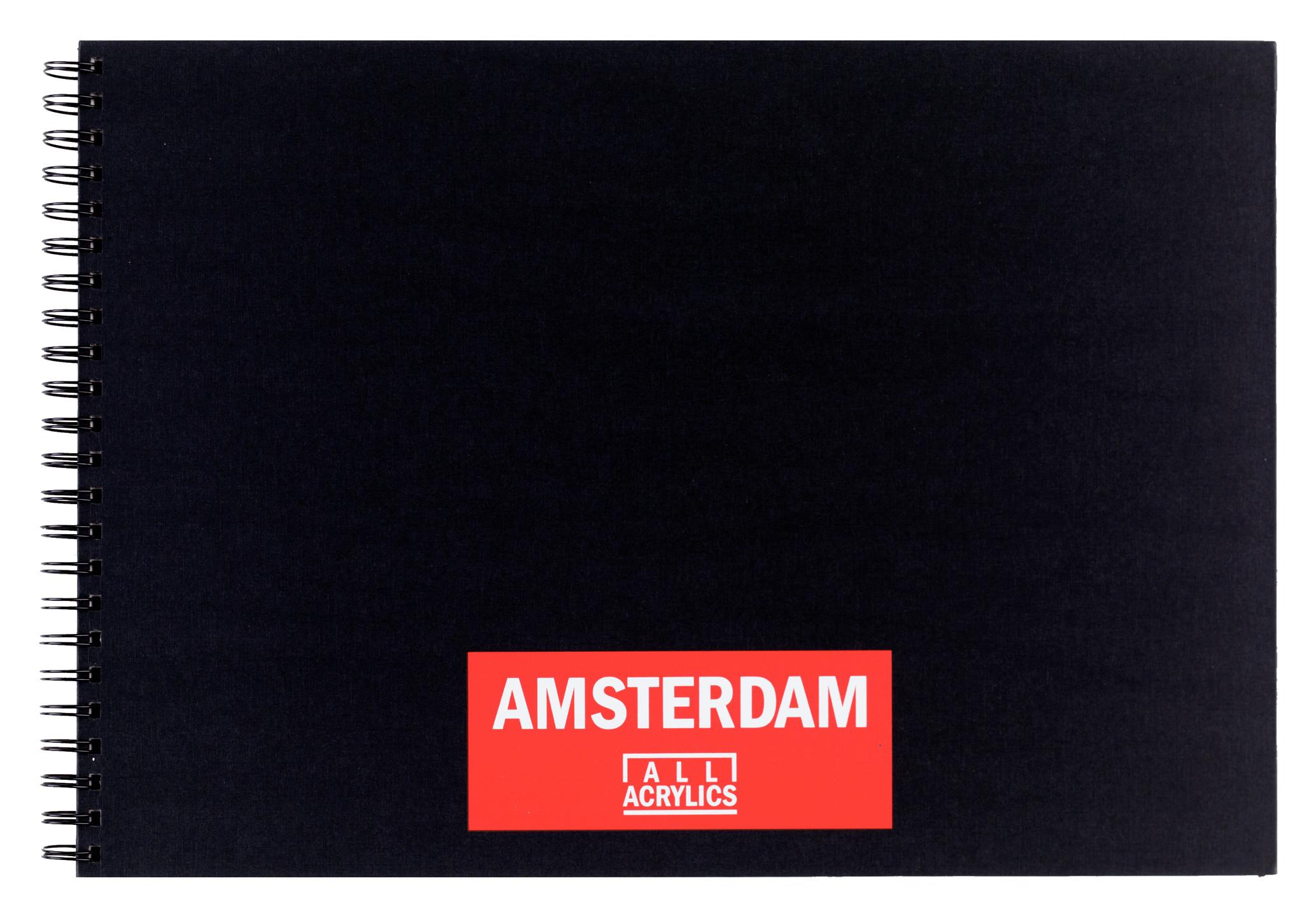 Amsterdam Black Book A3 -  42 x 29.7 cm - 250 g/m? -  30 Sheets