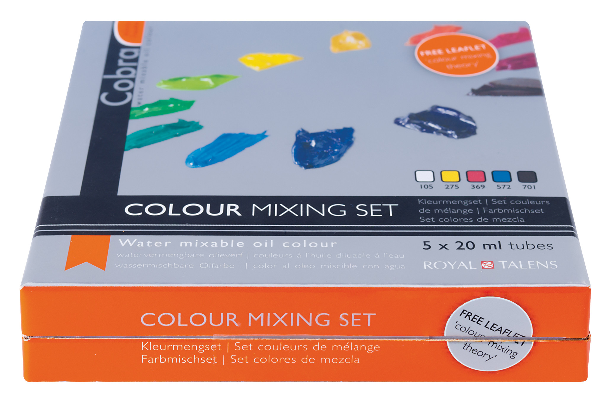 Cobra Artist Water Mixable Oil Colour Mixing Set