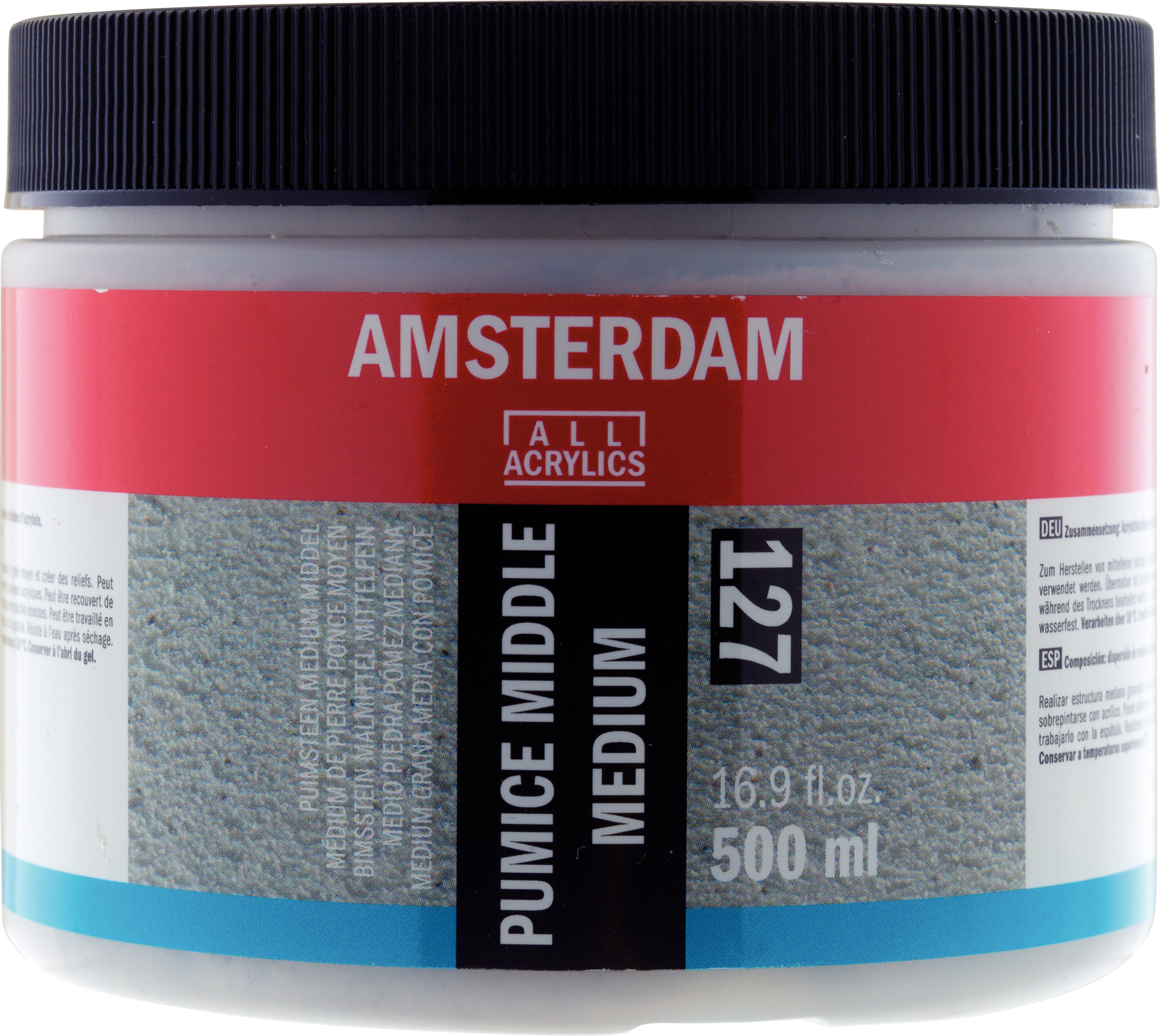 Amsterdam Pumice Middle Medium Jar 500 ml
