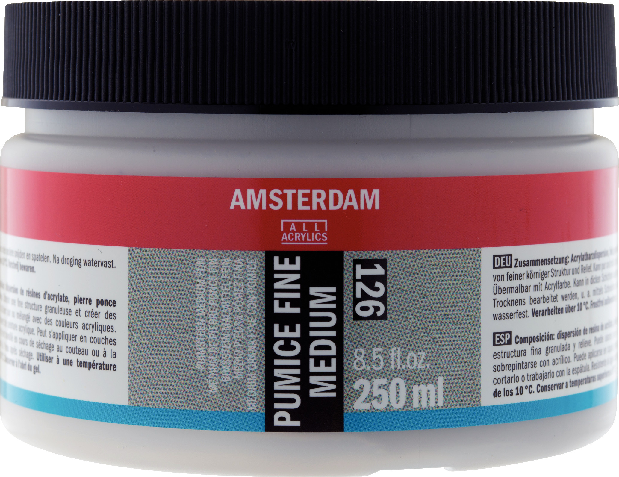 Amsterdam Pumice Fine Medium Jar 250 ml