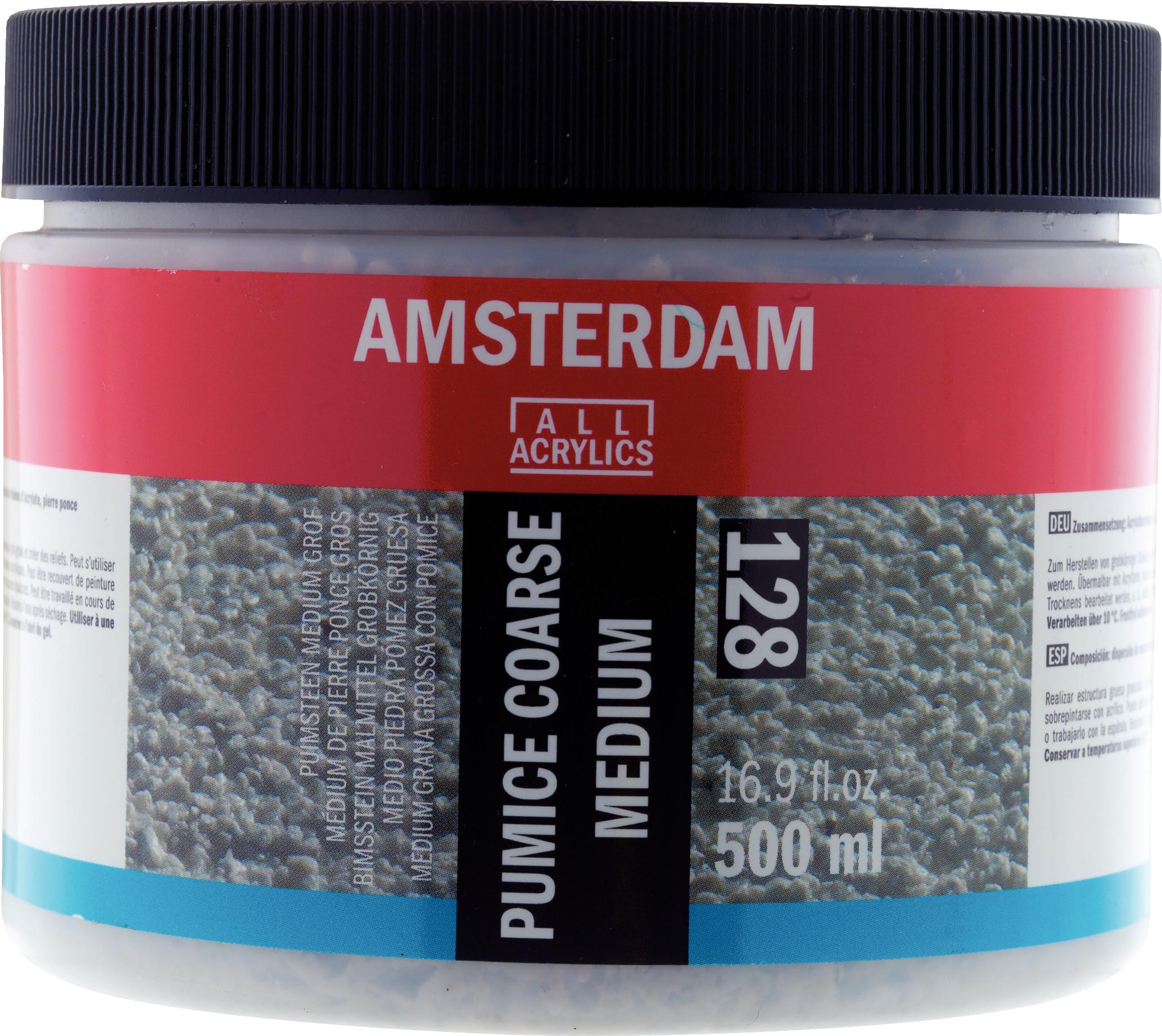 Amsterdam Pumice Coarse Medium Jar 500 ml