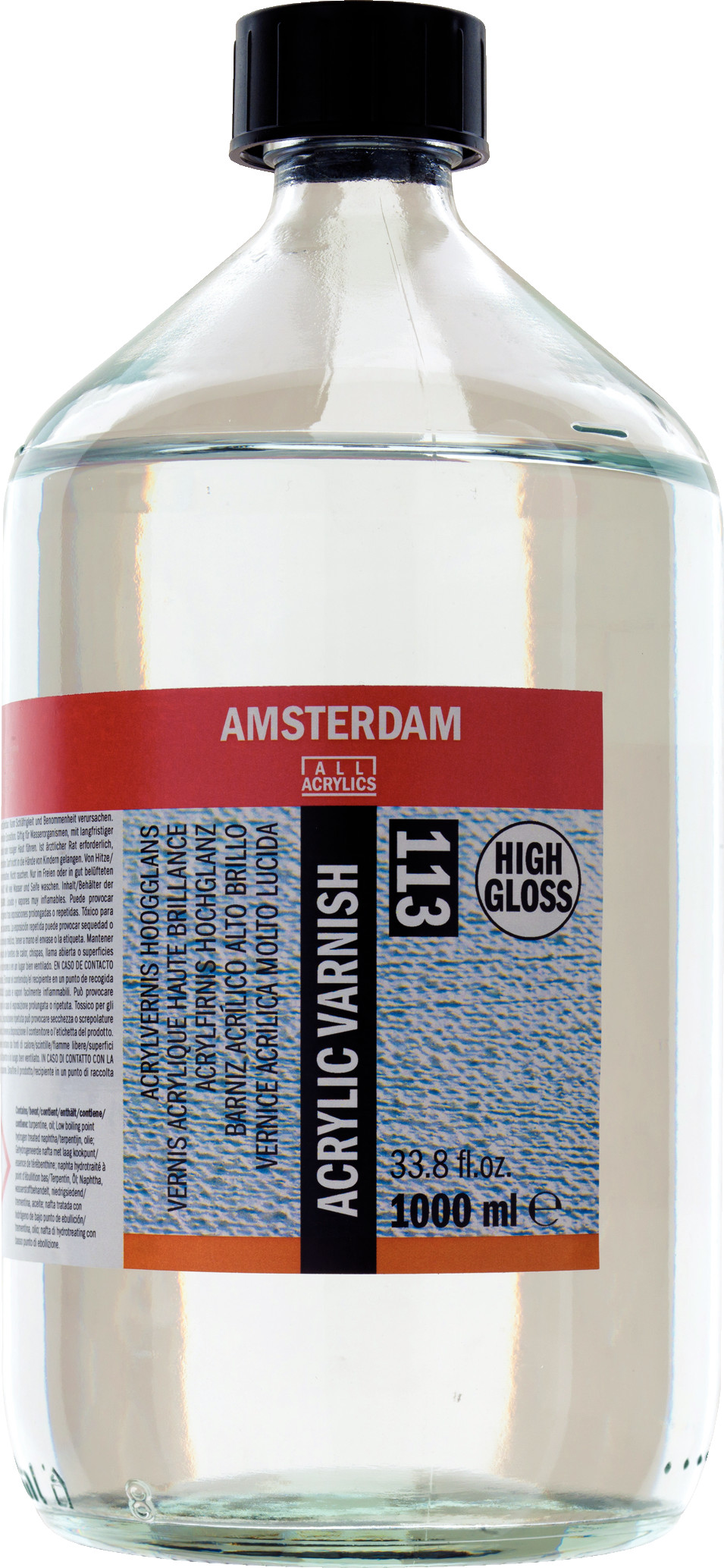 Amsterdam Acrylic Varnish High Gloss Bottle 1000 ml