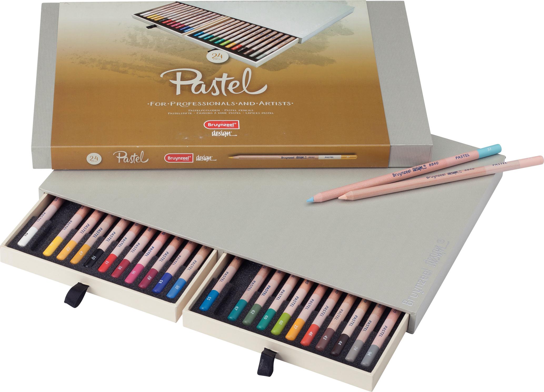 Bruynzeel Pastel Pencils Box 24