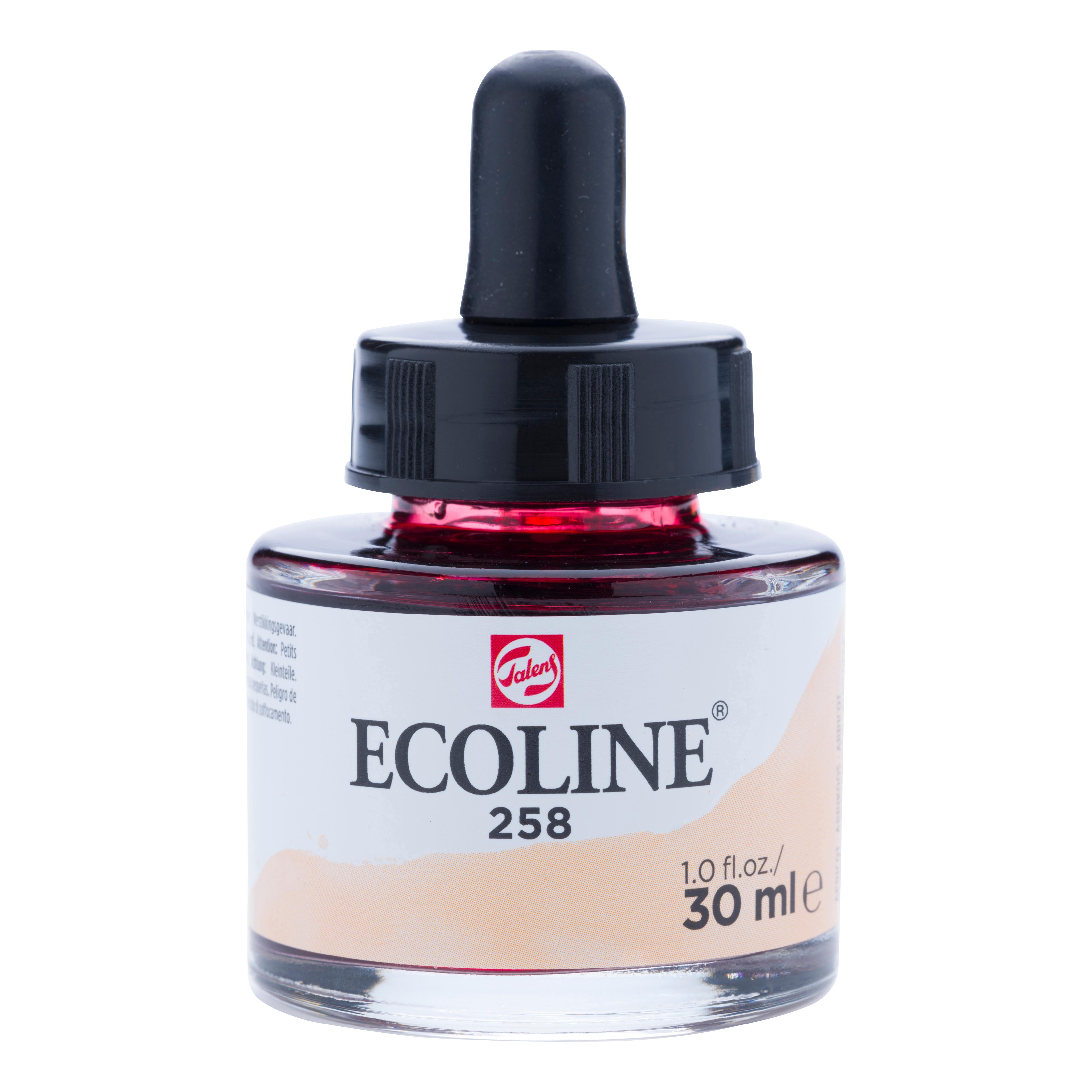Ecoline Liquid Watercolour Bottle 30 ml Apricot  258