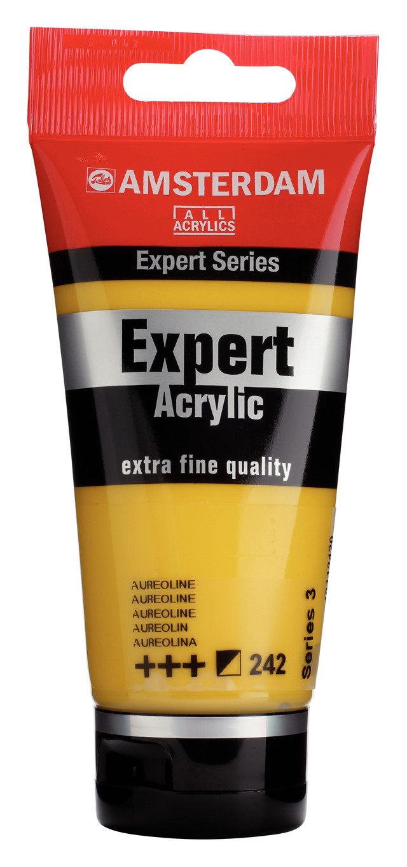 Amsterdam Expert Series Acrylic Tube 75 ml Aureoline 242
