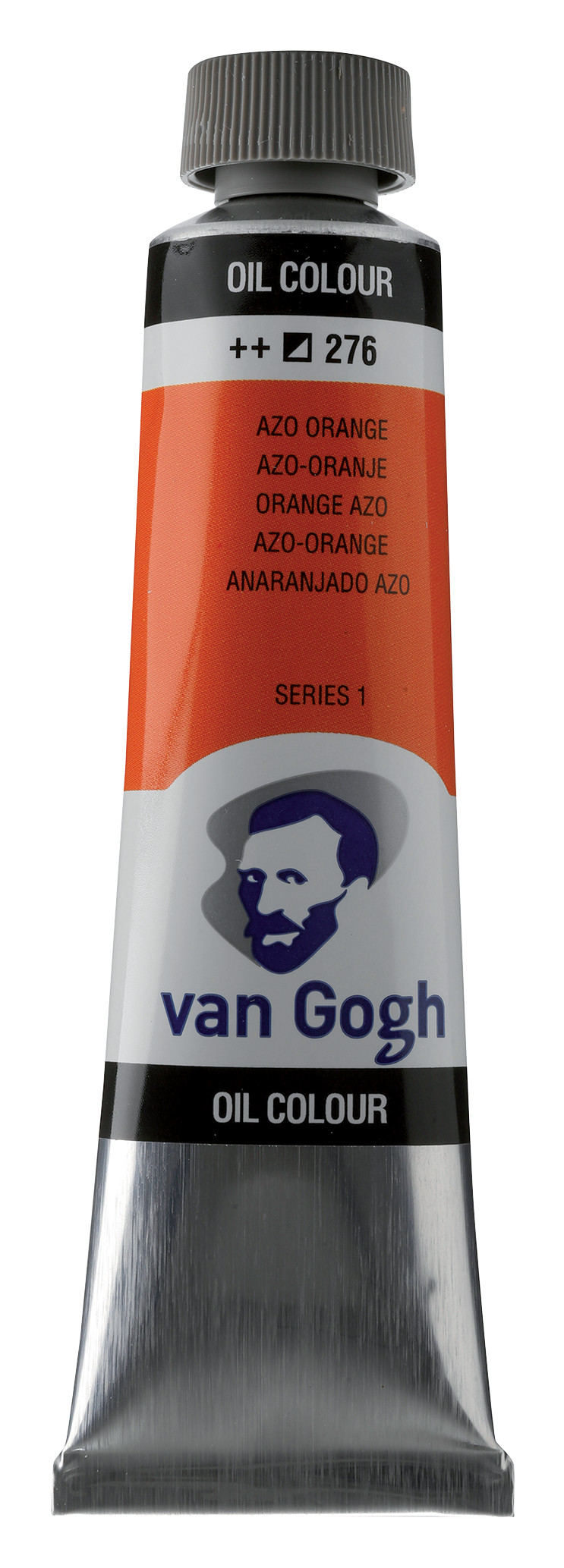 Van Gogh Oil Colour Tube 40 ml Azo Orange 276