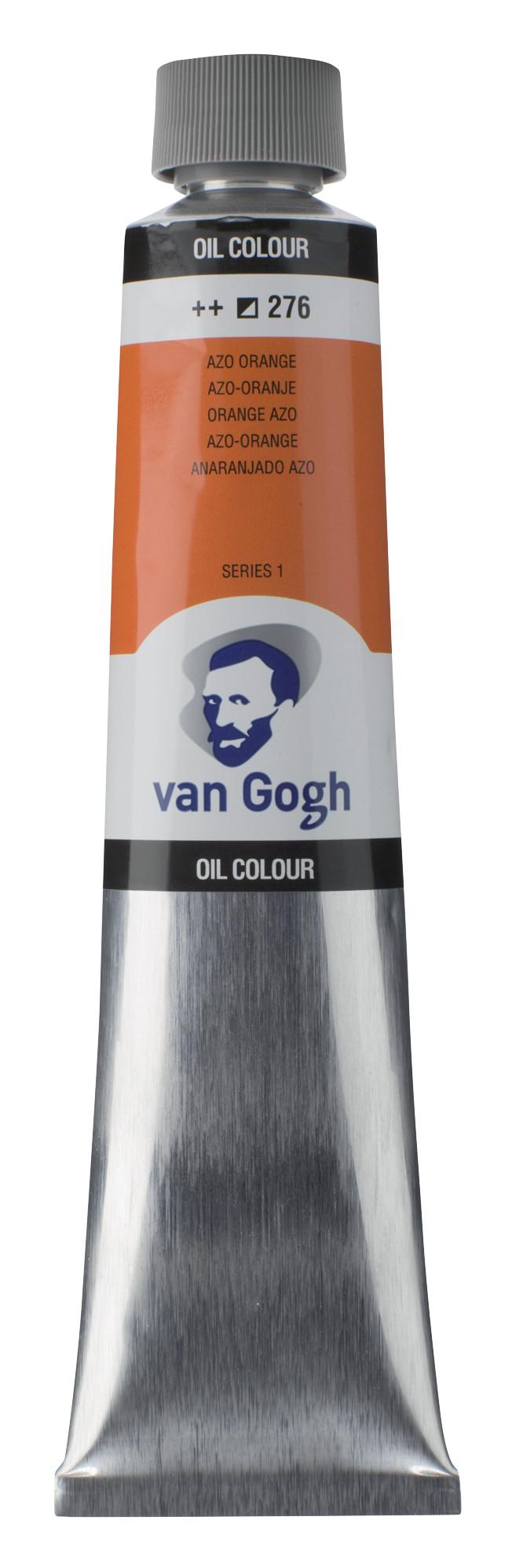 Van Gogh Oil Colour Tube 200 ml Azo Orange 276