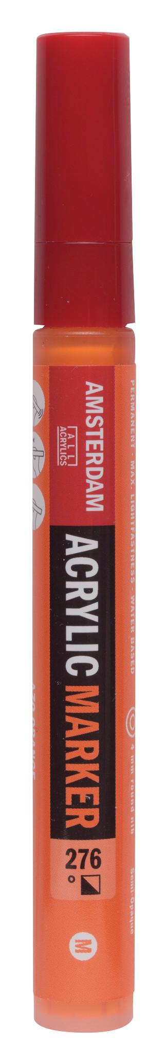 Amsterdam Acrylic Marker 4 mm Azo Orange 276