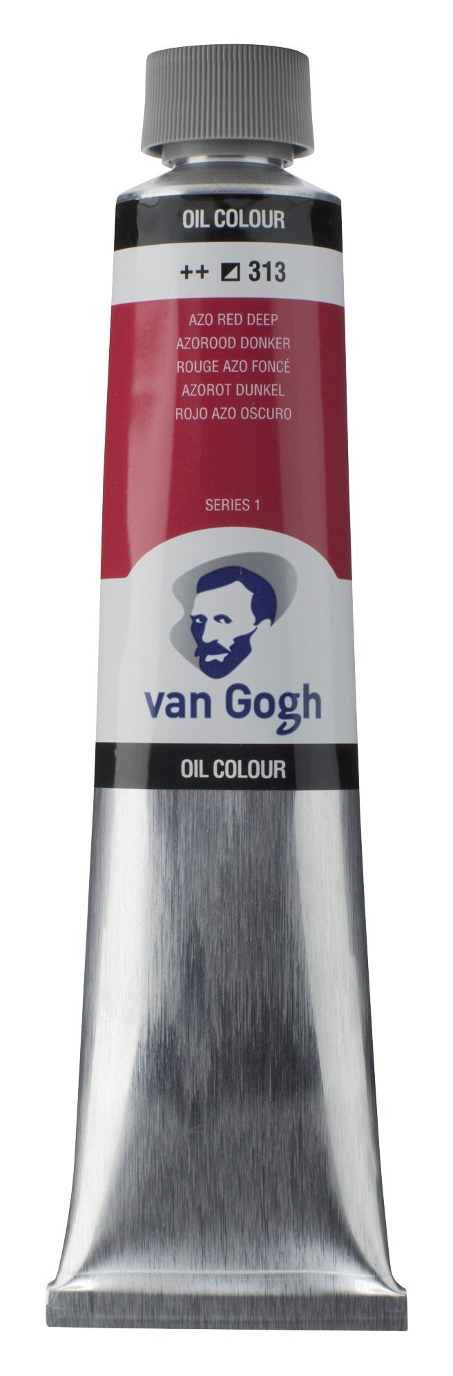 Van Gogh Oil Colour Tube 200 ml Azo Red Deep 313
