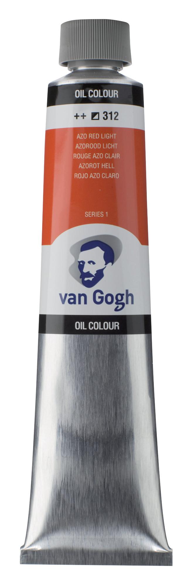 Van Gogh Oil Colour Tube 200 ml Azo Red Light 312