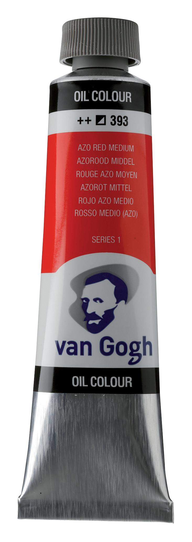 Van Gogh Oil Colour Tube 40 ml Azo Red Medium 393