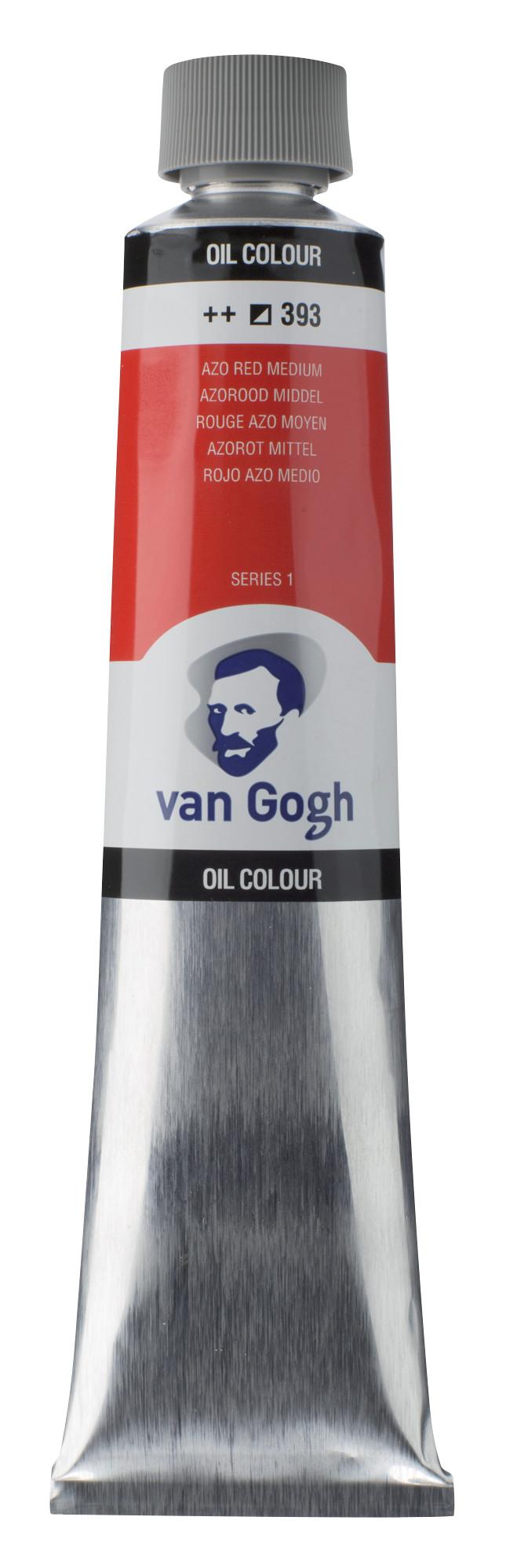 Van Gogh Oil Colour Tube 200 ml Azo Red Medium 393