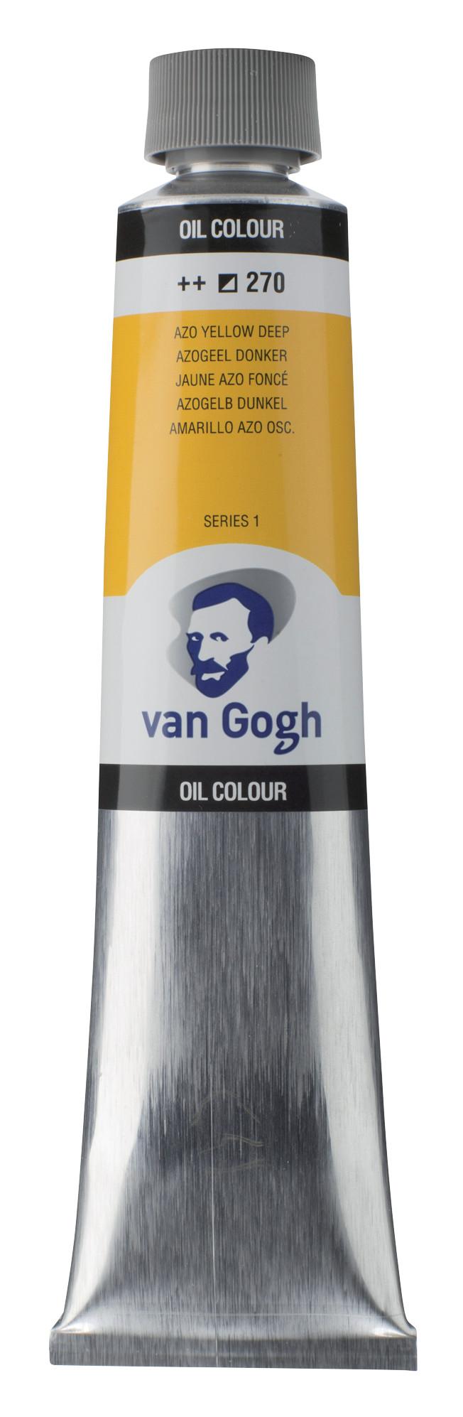 Van Gogh Oil Colour Tube 200 ml Azo Yellow Deep 270
