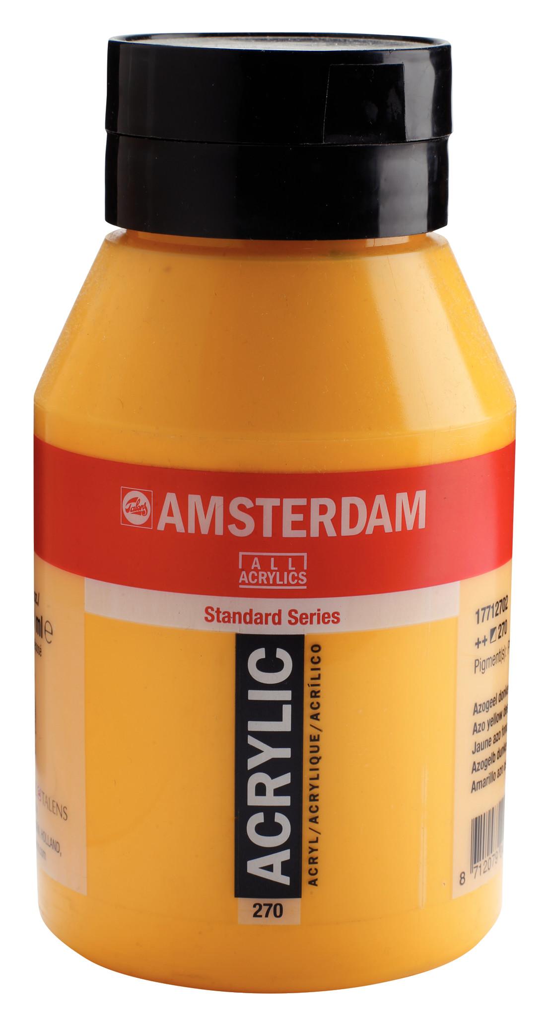 Amsterdam Standard Series Acrylic Jar 1000 ml Azo yellow deep 270