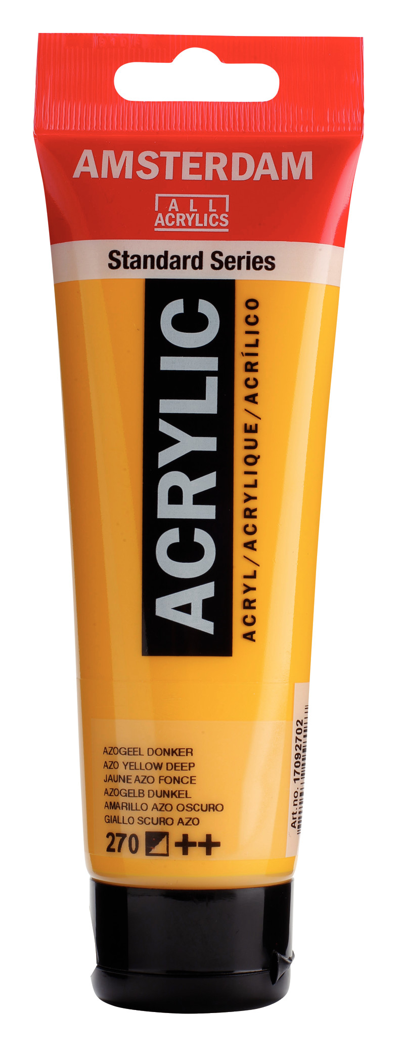 Amsterdam Standard Series Acrylic Tube 120 ml Azo yellow deep 270