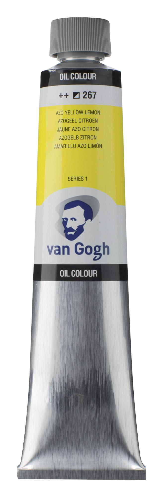 Van Gogh Oil Colour Tube 200 ml Azo Yellow Lemon 267