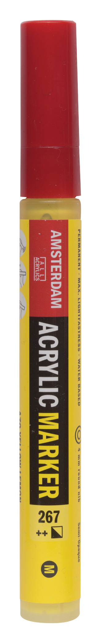 Amsterdam Acrylic Marker 4 mm Azo Yellow Lemon 267