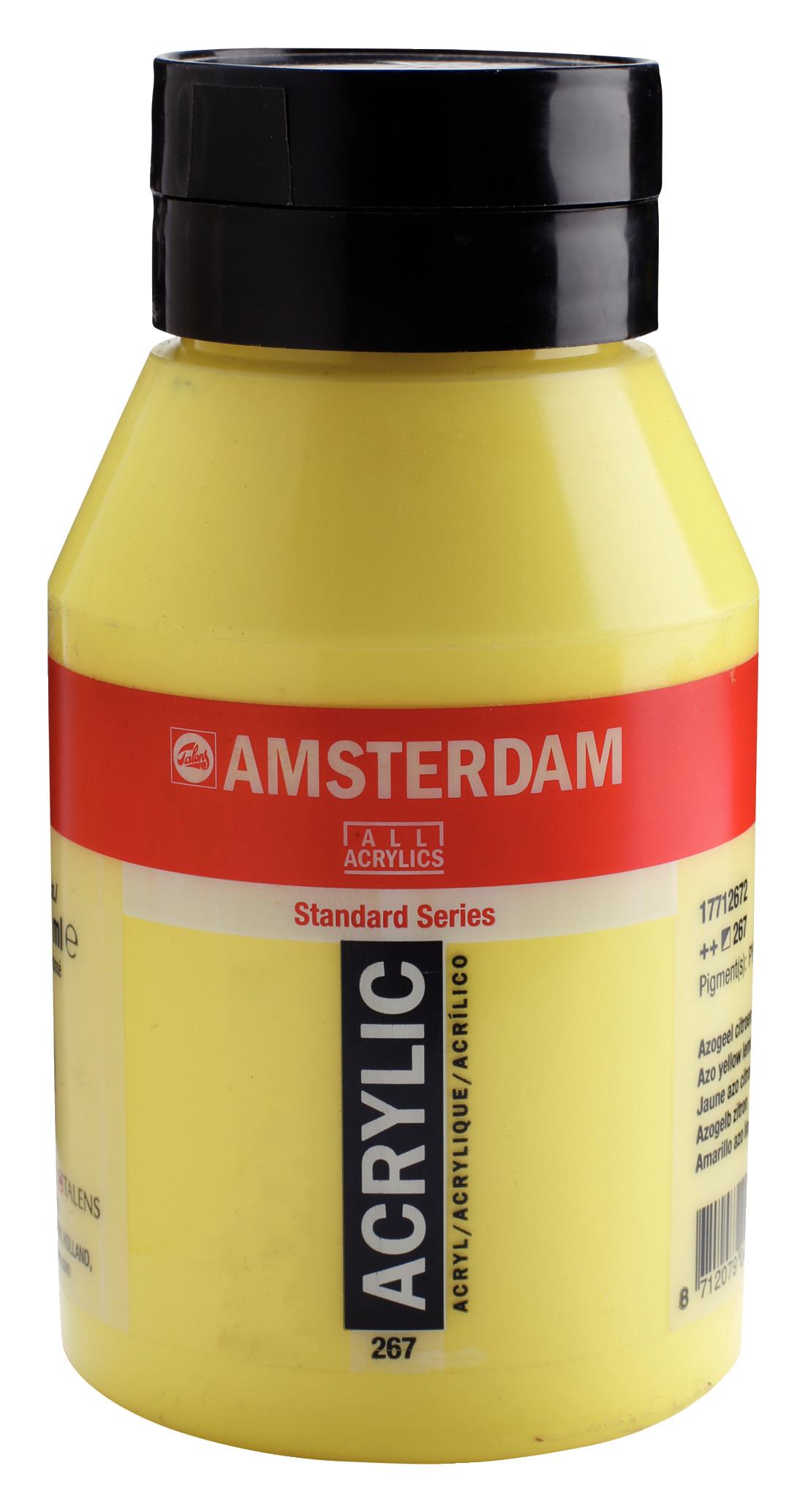 Amsterdam Standard Series Acrylic Jar 1000 ml Azo yellow lemon 267