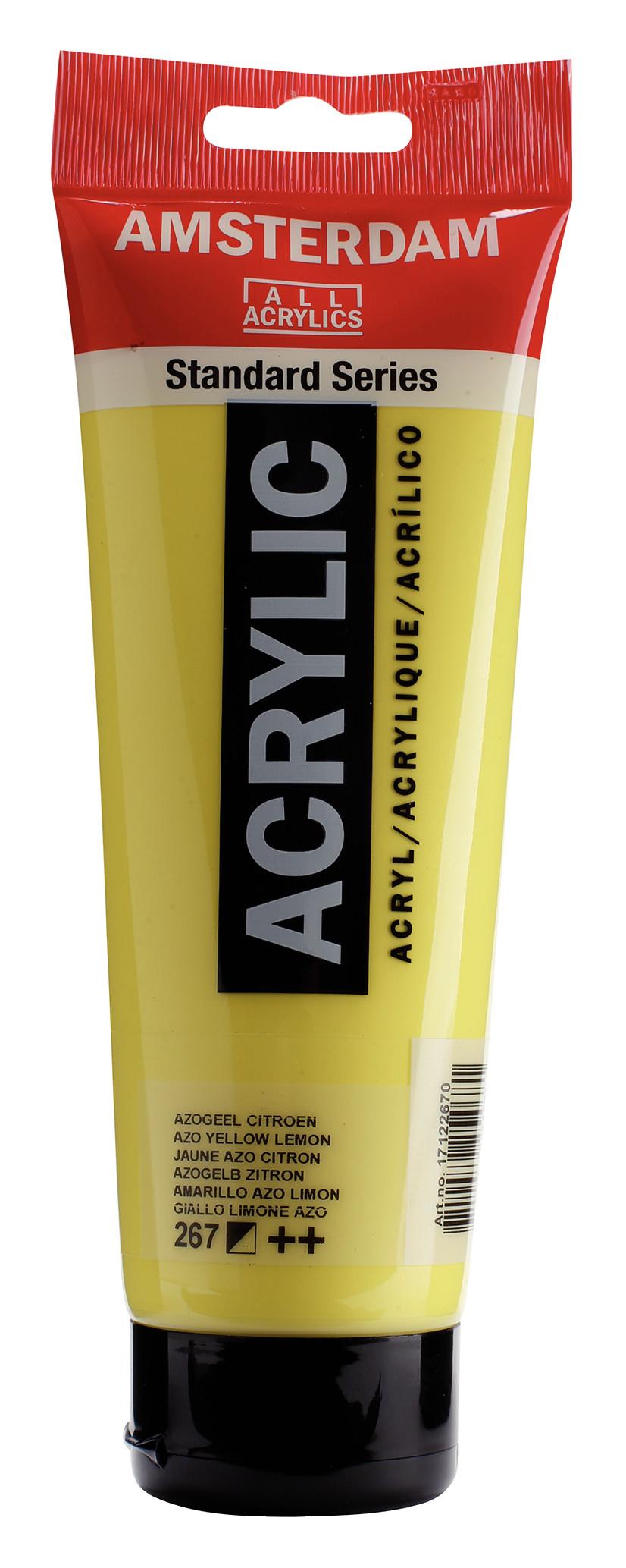 Amsterdam Standard Series Acrylic Tube 250 ml Azo yellow lemon 267