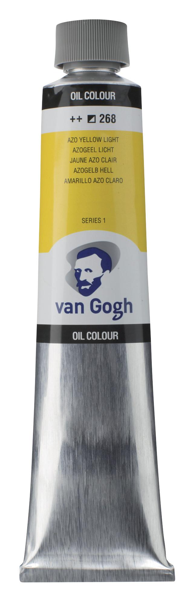 Van Gogh Oil Colour Tube 200 ml Azo Yellow Light 268