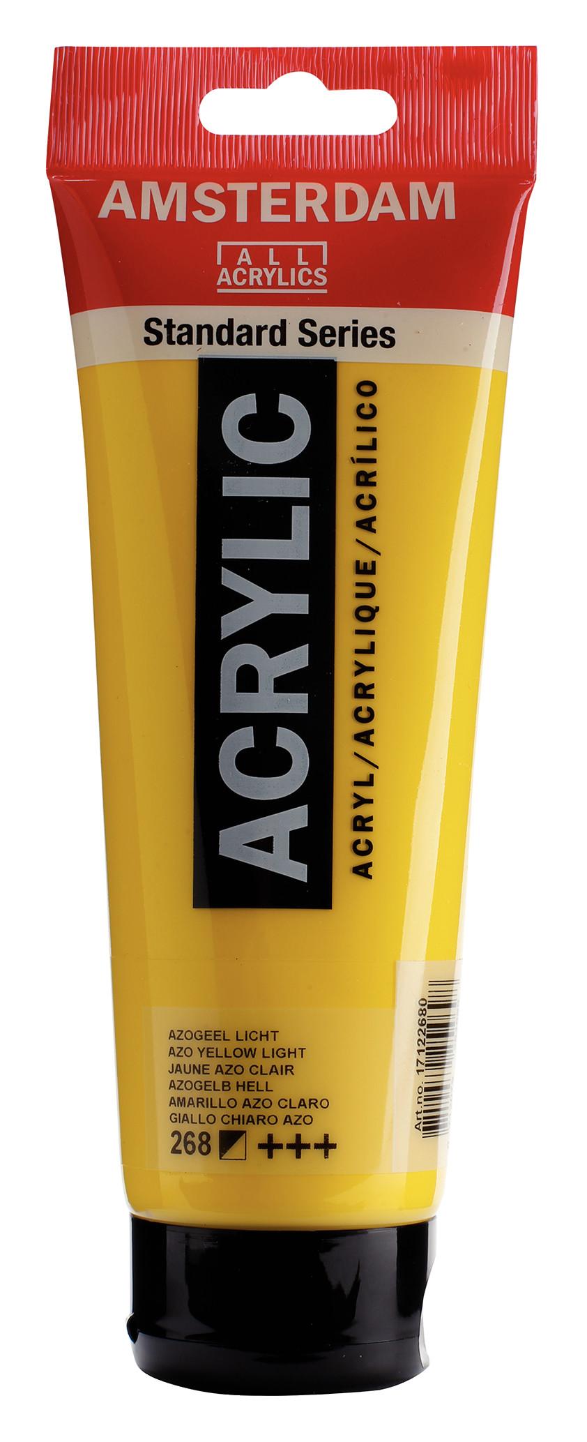 Amsterdam Standard Series Acrylic Tube 250 ml Azo yellow light 268