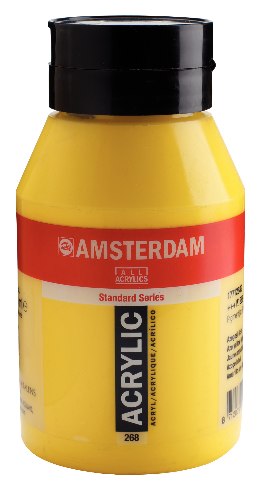 Amsterdam Standard Series Acrylic Jar 1000 ml Azo yellow light 268