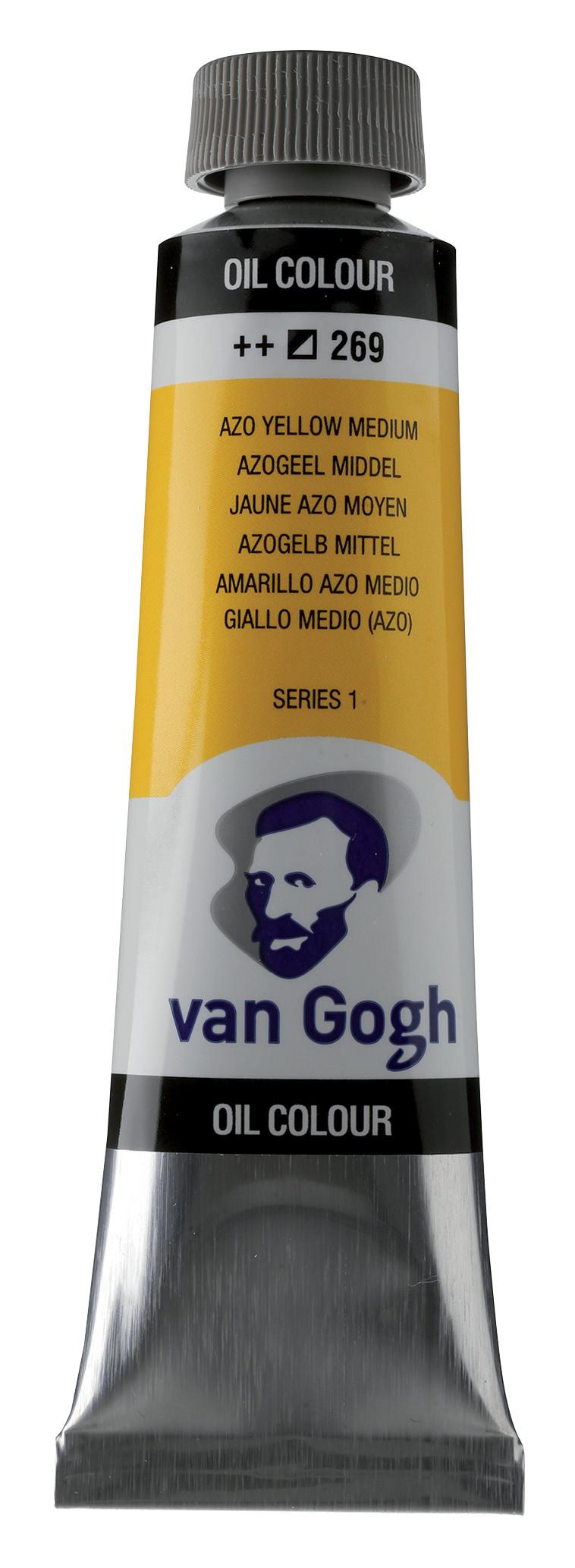 Van Gogh Oil Colour Tube 40 ml Azo Yellow Medium 269