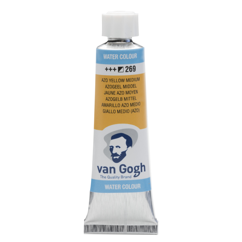 Van Gogh Watercolour Tube 10 ml Azo Yellow Medium 269