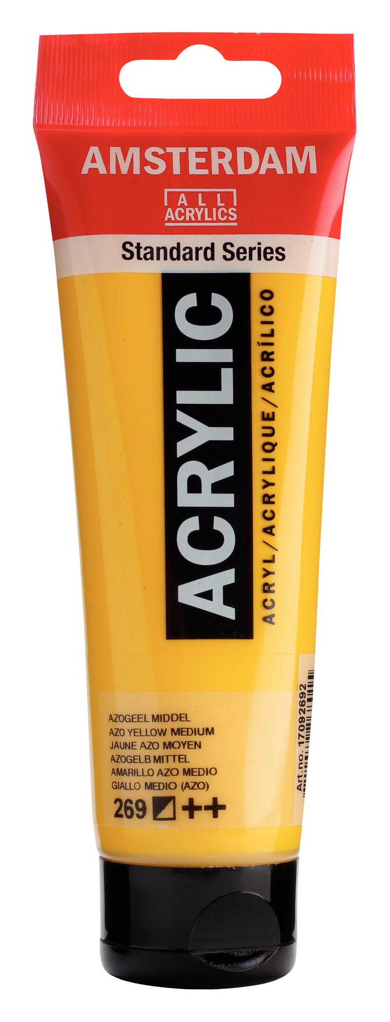 Amsterdam Standard Series Acrylic Tube 120 ml Azo yellow medium 269