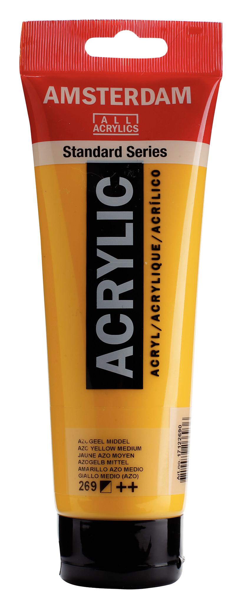 Amsterdam Standard Series Acrylic Tube 250 ml Azo yellow medium 269