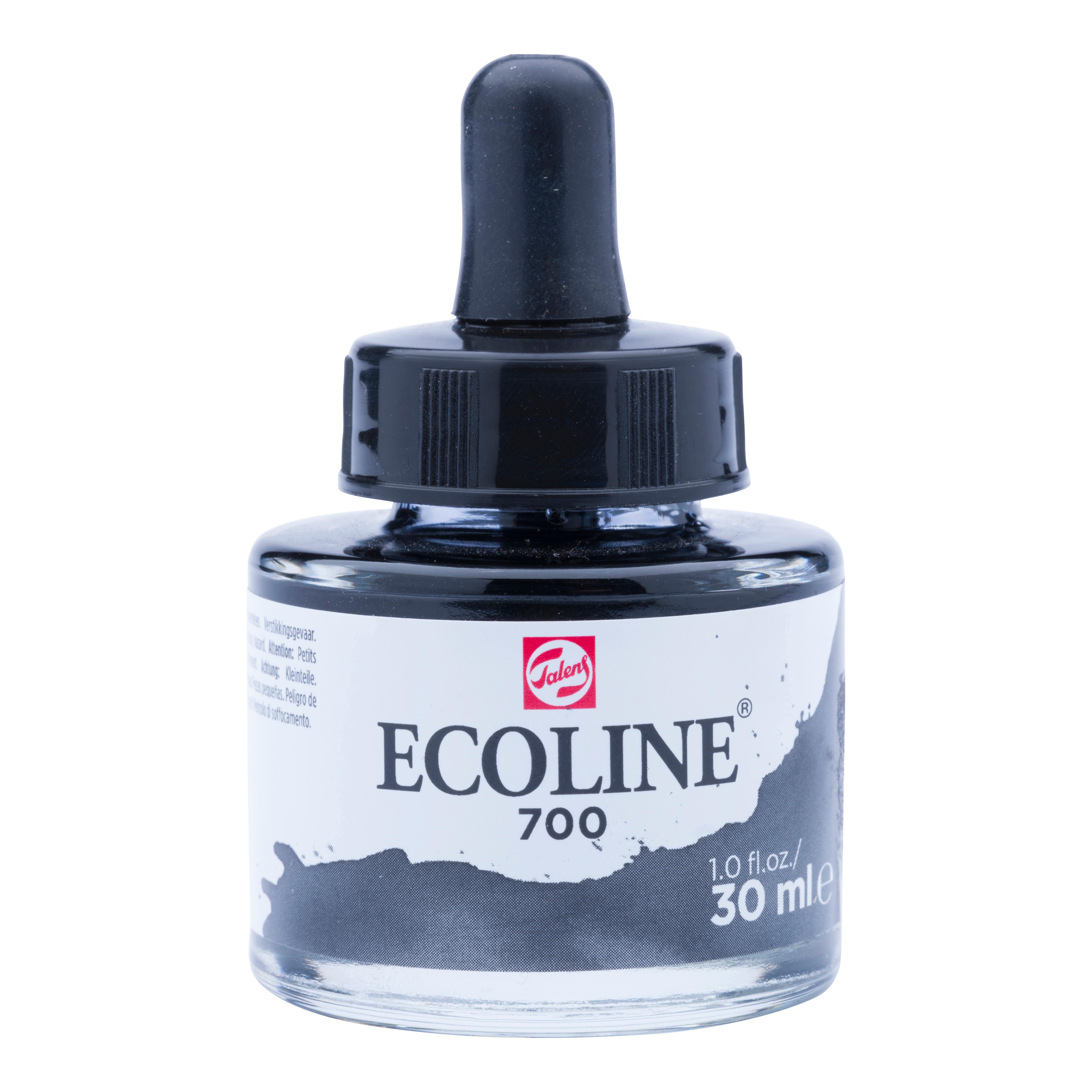 Ecoline Liquid Watercolour Bottle 30 ml Black  700